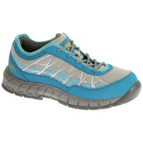Zapatos Caterpillar Punta Acero P90498 Connexion Azul