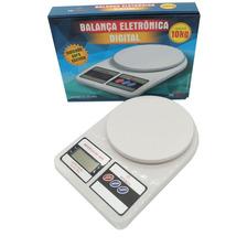 Balança Digital 1g A 10 Kg Cozinha Dieta Fitness Nutricao