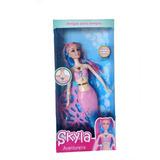 Skyla Sirena. Muñeca Grande De Agua. Imitación Barbie