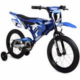 Bicicleta Yamaha Bmx Rin 16 Para Niños 4 A 8 Años Azul