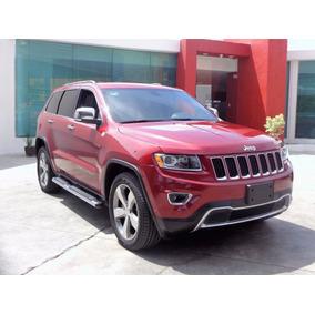 Jeep Grand Cherokee Limited 4x2 6cil 2014 Rojo Cereza