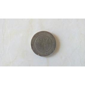 100 Réis Datada De 1889 De Níquel.