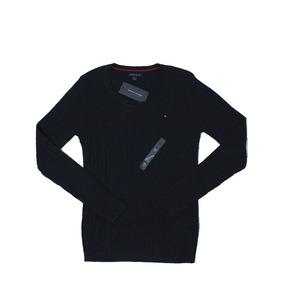 Tommy Hilfiger 100% Original Suéter Feminino - Tamanho P
