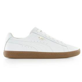 Puma Basket Classic Gum Deluxe Blanco