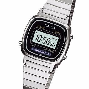 99c2bf33c21 Pronta Entrega Rel gio Casio Dourado Vintage La670 - Relógios De ...
