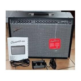 Equipo Fender Para Guitarra Champion 100 Con Efecto