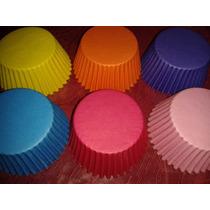 Pirotines Cupcakes Lisos Nº 10 * 30 Unidades