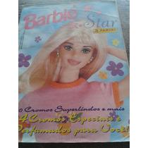 Barbie Star -álbum De Figurinhas- Incompleto