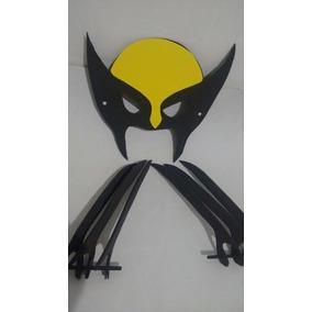 Mascara + Garras Do Wolverine Aniversario Festas Em E V A