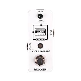 Pedal De Gravação De Loops - Micro Looper - Mooer