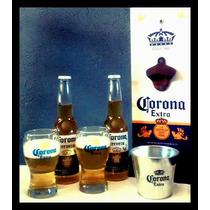 Destapador De Pared Con Cesto Cerveza Corona
