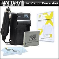 Batería Y Cargador Del Kit Para La Cámara Canon Powershot E