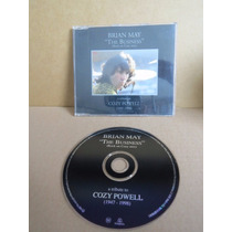 Cd Single Brian May The Business Tribute To Cozy Powell