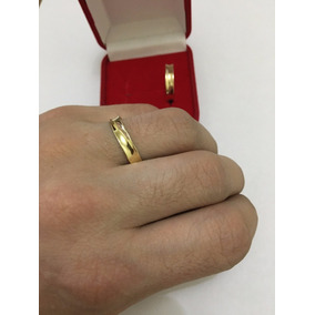 1085cdff36a Aliança Ouro 18k Casamento Unidade - Joias e Bijuterias no Mercado ...