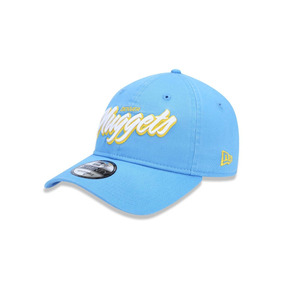 dd14cb1df21b6 Bone 920 Denver Nuggets Nba Aba Curva Strapback Azul New Era