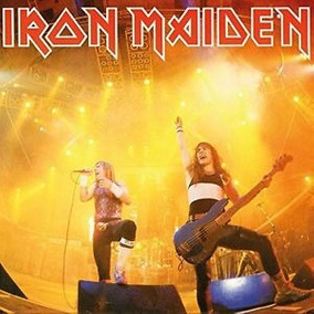 Disco Vinil Compacto Iron Maiden Running Free C/w Sanctuary