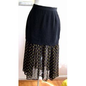 a7c1fc7b35 Preciosa Falda De Gasa Talla 44 (doble Genero) - Faldas de Mujer en ...