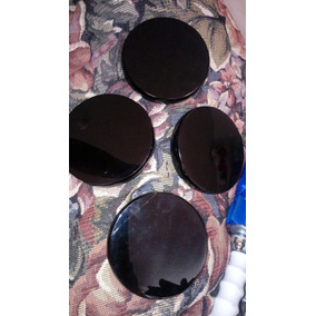 Cuatro Espejos De Obsidiana De 9 X 1.7 Cm (masaje De Piedras