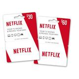 Netflix Giftcard 1 Mes / 4 Pantallas Fullhd