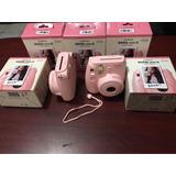 Instax 8 Mini Fujifilm Color Rosa Pastel