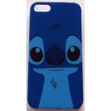 Capa Case Disney Stitch Azul Lilo Acrílico P/ Iphone 5 5s