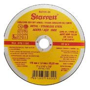 12 Disco De Corte Fino Starrett 7pol Esmerilhadeira