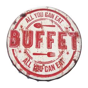Placa Tampa - All You Can Eat Buffet - Estação Vintage