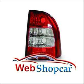 Lanterna Traseira Pick-up Strada 2005 2006 2007 2008 Bicolor