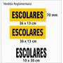Adhesivos Escolares Patentes Taxis Numeros