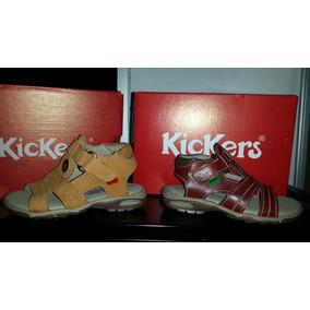 Sandalias Para Niños Talla 23 Kickers