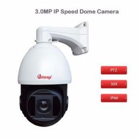 Câmera Ip Speed Dome 3mp 30x Zoom Onvif Ptz 500metros