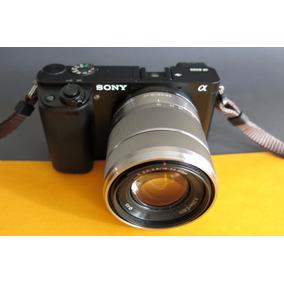 Camara Sony A6000 Mirror Less Con Lente 18-55, Oportunidad.