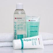 Kit Aquashot: Agua Micelar+exfoliante+crema Hidratante