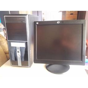 Computador Core 2 Duo Con Monitor, Teclado Y Mouse