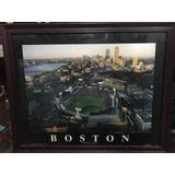Cuadro Deportivo Decorativo Red Sox De Boston. Béisbol