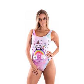 Body Unicórnio Fantasia Carnaval Lindo 2018 Roupa Feminina