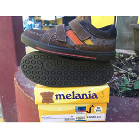 Zapatos Choclo Niño Melania Color Cafes, Envio Gratis!