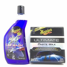 Cera Automotiva Ultimate Paste Wax + Shampoo Nxt Meguiars