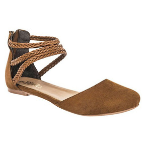 Flats, Dama, Zapato Casual, Envio Gratis, Sc 370802-3