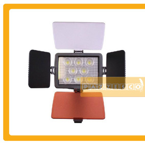 Kit Lampara Video Profesional 8 Led Reflex Nikon Sony Foto