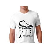 Playera Michael Jordan Flight Air Tennis Basketball 4 Dif!