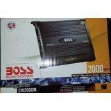 Planta Amplificadora Boss Monoblock 2000w Modelo Cw2000m
