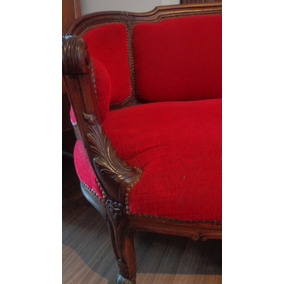 Antiguo sillon estilo frances canape en mercado libre for Canape en ingles