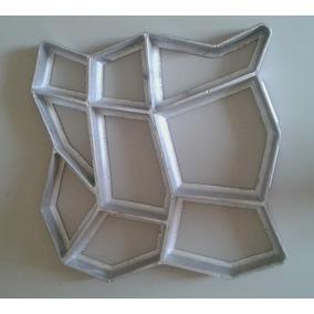 Molde para cal adas de concreto moldes e formas no - Como hacer brillar el piso de cemento ...