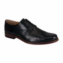 Zapatos Oxford Bostoneano Piel Suela Cuero Msi Envío Gratis