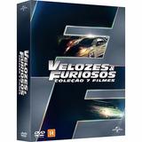 Box Dvd Coleção Velozes E Furiosos 1 Ao 7 - Original Lacrado
