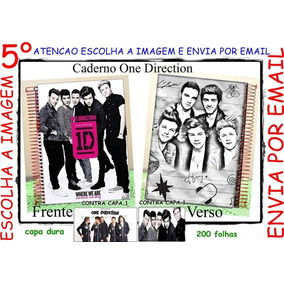 Caderno 10 Matérias One Direction Personalizado Mod 5