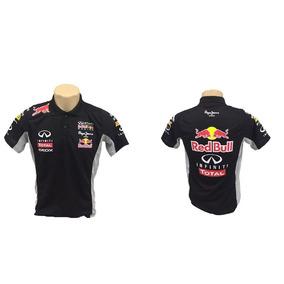 Camisa Polo Red Bull Formula 1 Team Racing F1 Redbull Blusa