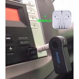 Convierte Tu Radio De Auto En Una Con Bluethooth + Regalo !!