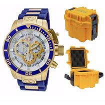 Relógio Invicta Corduba - 10619 Azul Masculino Caixa Stank